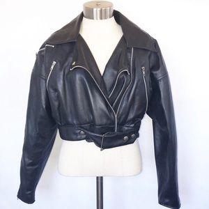 Vintage BB Dakota Motorcycle Jacket